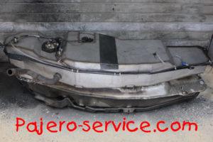 Топливный бак Паджеро нержавеющая сталь бензин длиннобазная версия MR342848 MR342852 MR342851 MN106066 1700A404 1700A687 1700A405 MR342855