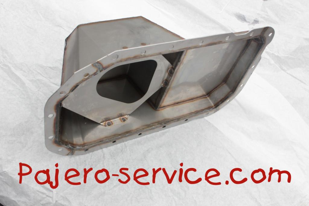 поддон двигателя паджеро 4м41 нержавейка ME203659 ME193733 ME193736 1200A348 1200A423 1200A421