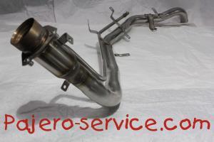 MN139504 Заливная горловина пластик нержавейка Паджеро 3 Паджеро4 бензин дизель