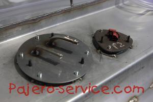 Топливный бак Паджеро 2 Нержавейка Топливоприемник