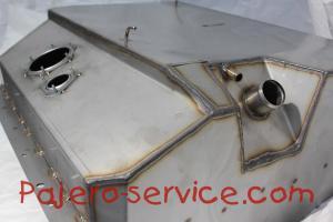 Топливный бак Паджеро 2 Нержавеющая сталь. Купить.