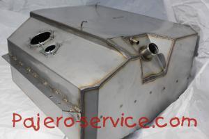 Топливный бак Паджеро 2 Из нержавеющей стали. Производство Беларусь