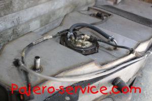 Топливный бак Паджеро 4 Нержавеющая сталь бензин дизель